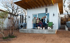 These four couples have been best friends for 20 years, so they decided to make a tiny town just for themselves