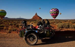 Among the balloons in Valley of the Gods